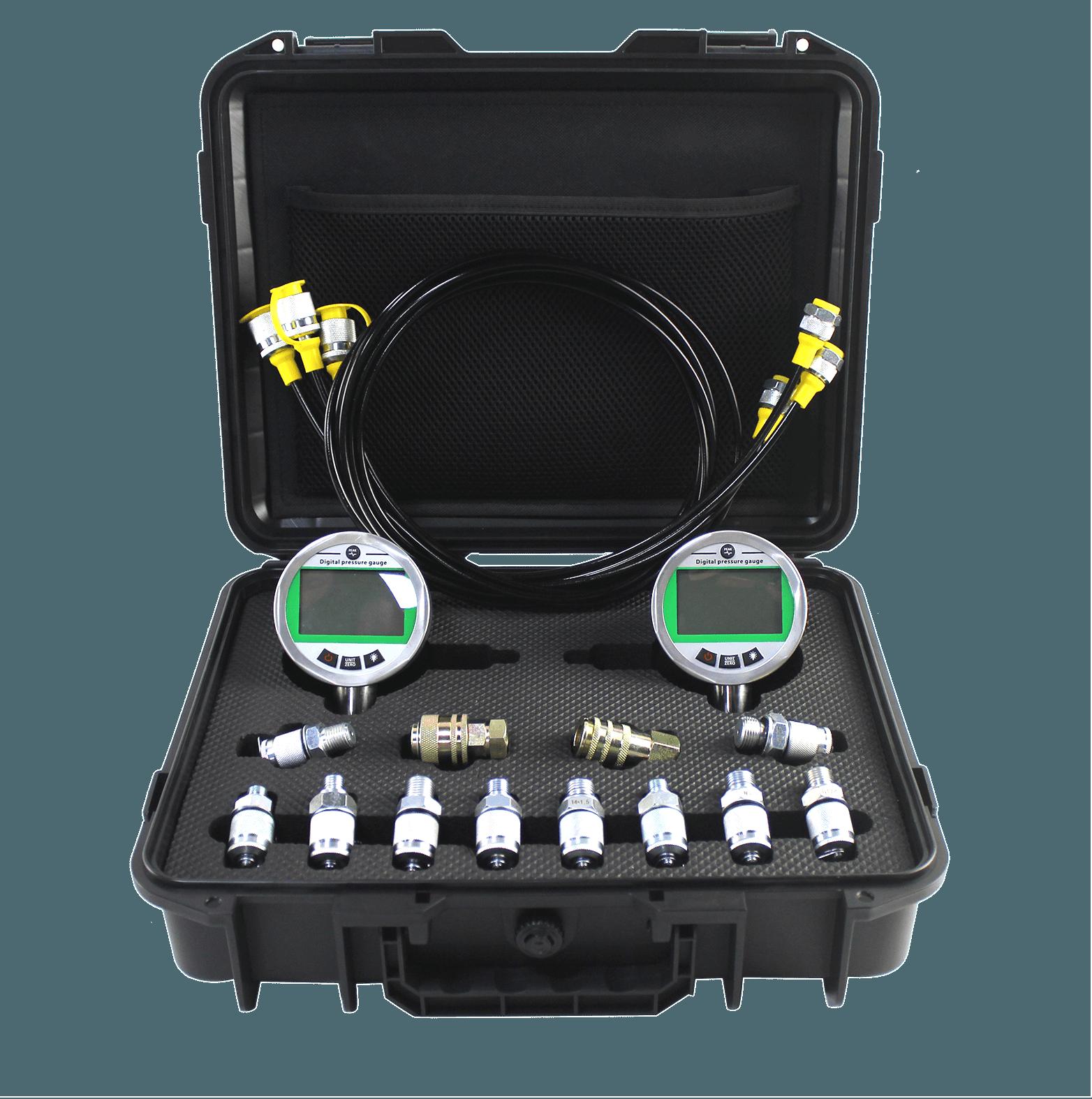 digital hydraulic pressure gauge kit