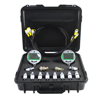 digital hydraulic pressure gauge kit