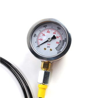 Pressure Gauge 10000 PSI