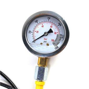 pressure gauge 100 bar