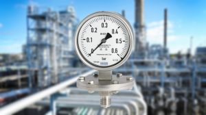 how liquid filled pressure gauge works