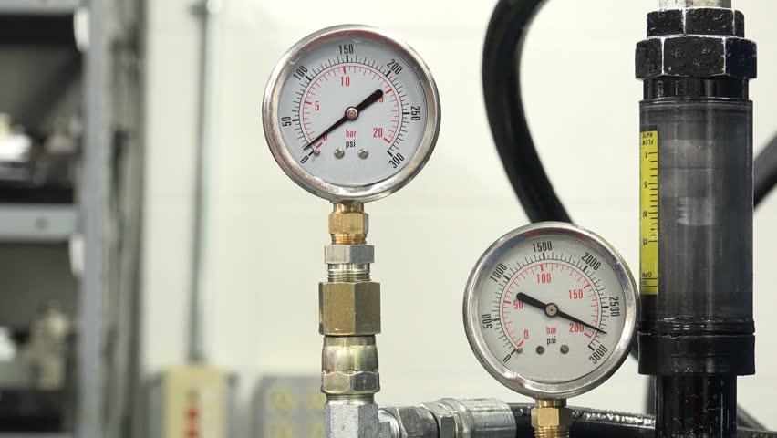 Glycerine Filled Pressure Gauge Silicone Filled Pressure Gauge