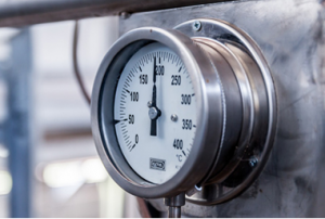 pressure gauge range and type