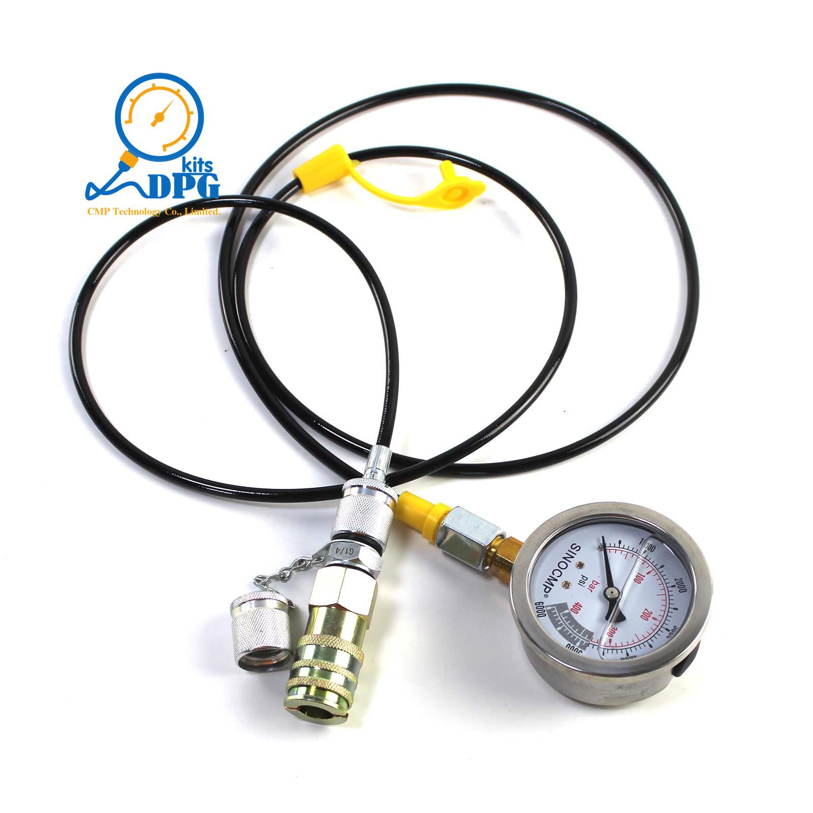 Komatsu Hydraulic Pressure Test Guage